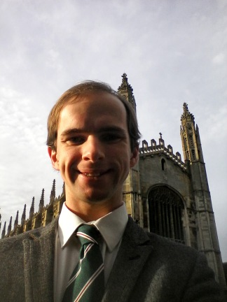 Will at King's College Chapel, 24-Jan-2016 (1)